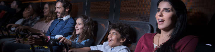Audience excited at Bollywood parks, Dubai