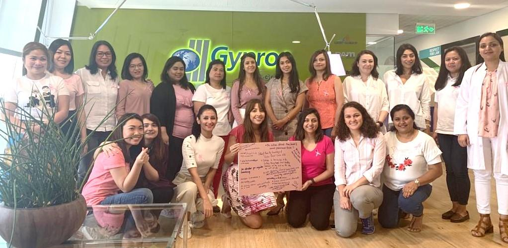Breast cancer awareness month celebrated at our Dubai office