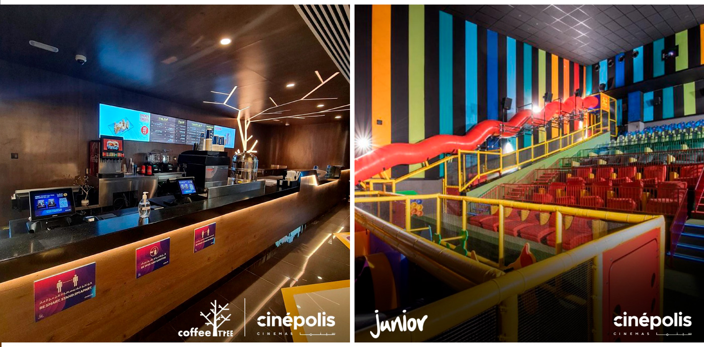 Cinepolis Sharjah Interiors