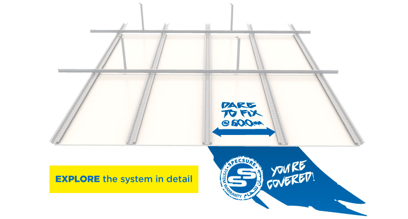 Explore ANTI-SAG Ceiling System