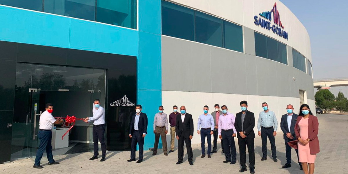 Inauguration of Saint-Gobain's new head office in the UAE at DIP 1