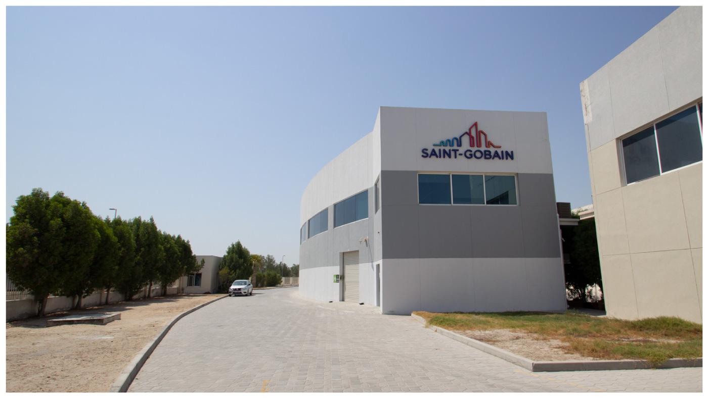 Saint-Gobain UAE office building