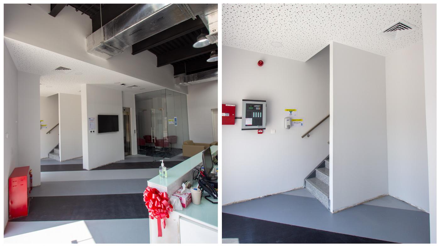 Interiors of Saint-Gobain UAE office