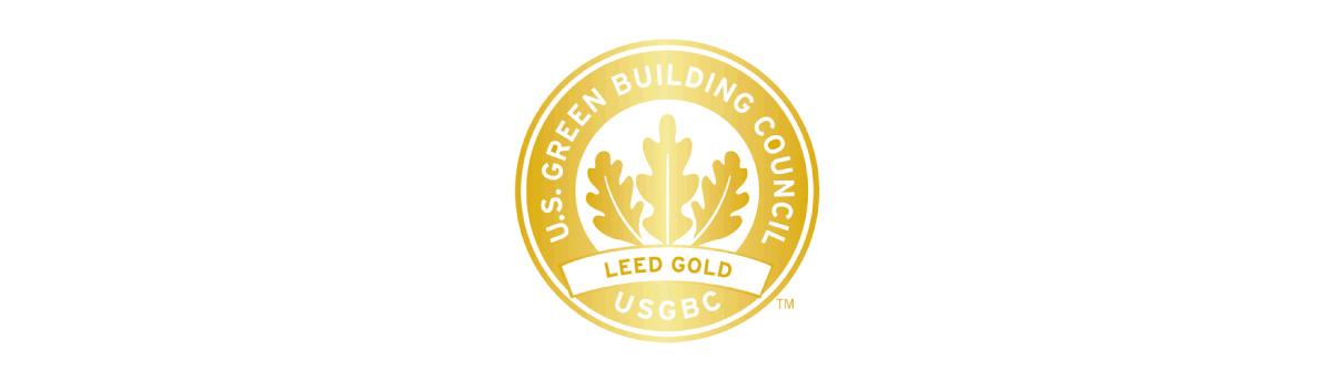 USGBC Leed Gold logo