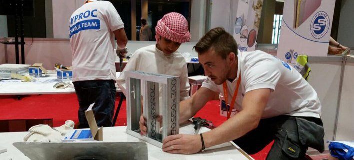Gyproc at Emirates Skills 2015 - Click and view the entire FB album