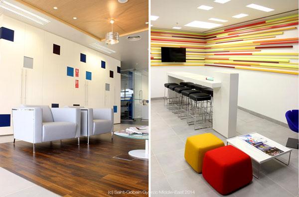 Oman Arab Bank HQ Interiors / Saint-Gobain Gyproc ME