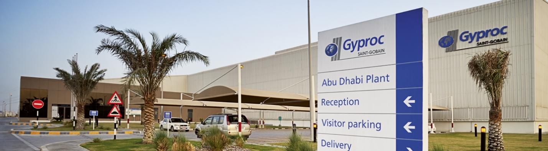 Gyproc's Abu Dhabi Plasterboard Plan