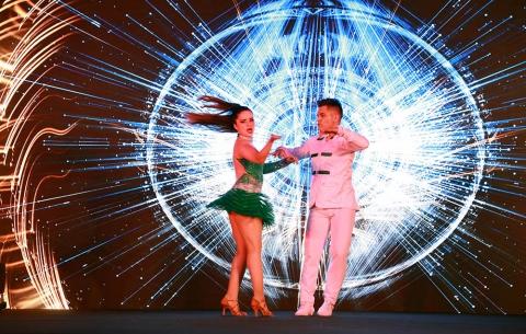 Gyproc ME Trophy Dancers