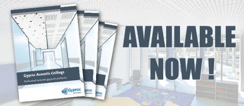 New Acoustic Ceilings Brochure Released !
