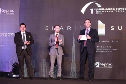 Gyproc ME Trophy Award Ceremony