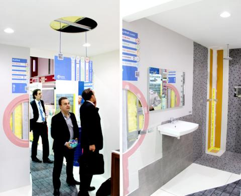 Mock-Up Rooms with Gyproc systems