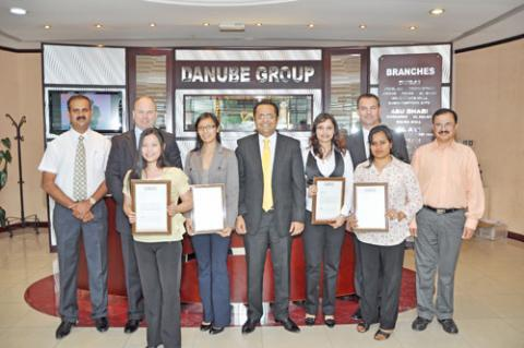 Danube awards recognise outstanding support from Gyproc