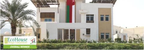 HCT GreenNest Eco House - Overall Winner in Oman Eco House Competition 2015 - Supported by Gyproc Middle East