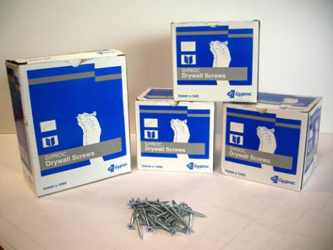 Gyproc has expanded product range with the addition of jointing tapes and screws