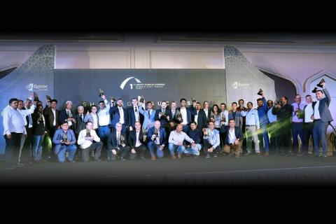 Gyproc ME Trophy Sharing Success