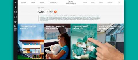 Saint-Gobain | Brand new corporate website launched!