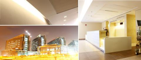 Al Mafraq Hospital powered by Gyproc Drylining systems