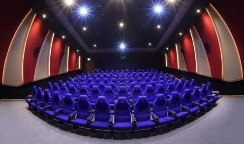 Oscar Cinema Sharjah UAE - Gyproc Middle East