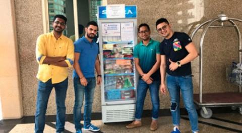 Ramadan sharing fridges donation