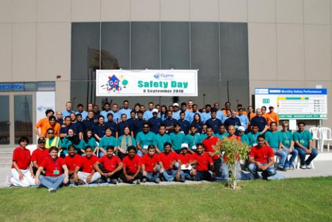 Saint-Gobain emphasise importance of safety to employees