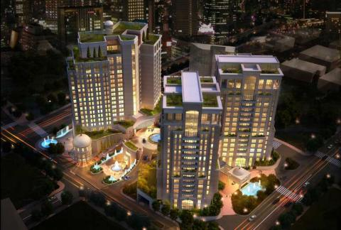 St. Regis Amman using Gyproc systems and solutions